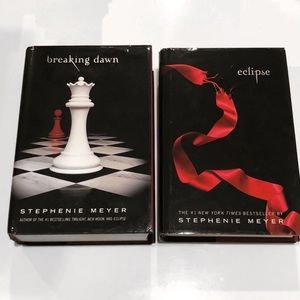 Twilight Series Books: Eclipse & Breaking Dawn Set